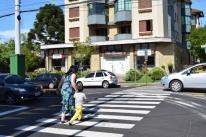 Trecho entre a avenida Borges de Medeiros e a rua Augusto Daros foi um dos contemplados