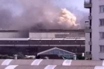 Incêndio atinge fábrica das Empresas Randon, em Caxias do Sul