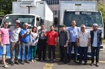 Veículos foram conquistados através da Consulta Popular, realizada pelo município em 2015