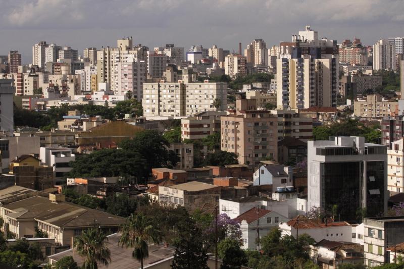 Em Porto Alegre, a retração no peço dos imóveis em janeiro foi de -0,07%