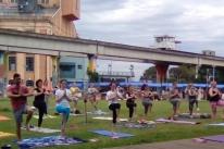 Ioga e dança em praças e parques ocorrem em Porto Alegre e Canoas neste domingo