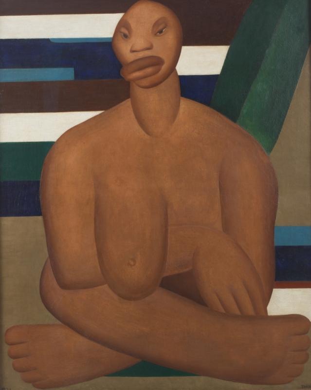 Curadores destacam significado da tela A negra, de 1923, exposta pelo MoMA em Nova Iorque