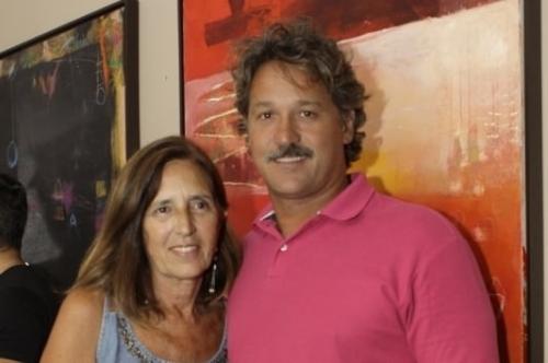 Ana Maria Cirne Lima de Lorenzi e Eduardo Cirne Lima de Lorenzi no Tartare