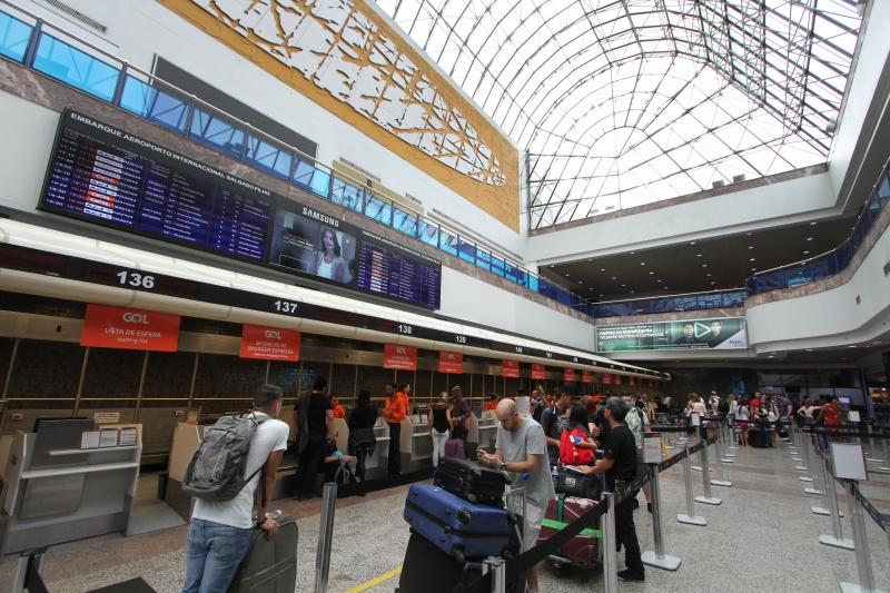 Redução mais evidente ocorreu entre Congonhas e Porto Alegre
