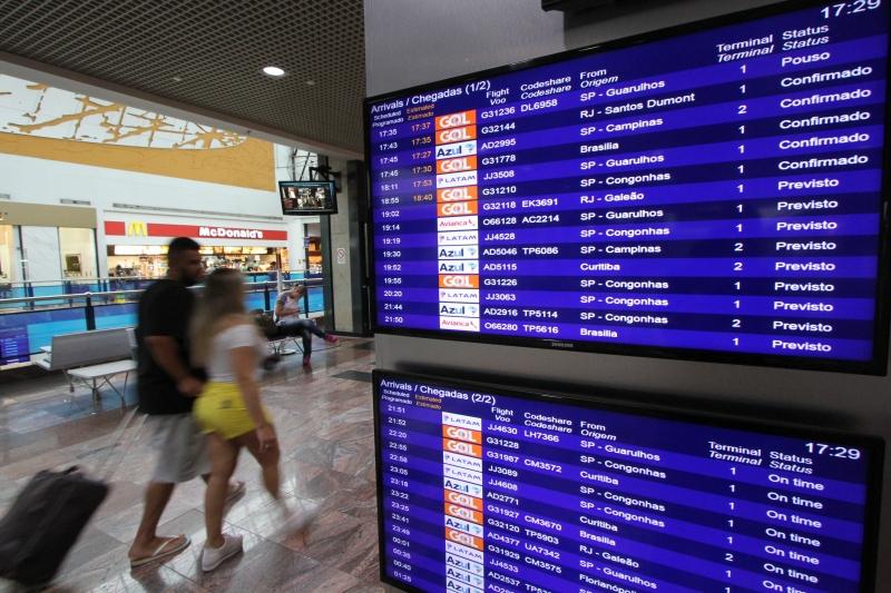 De 2013 a 2017, operações regulares tendo como origem o aeroporto Salgado Filho caíram cerca de 10%
