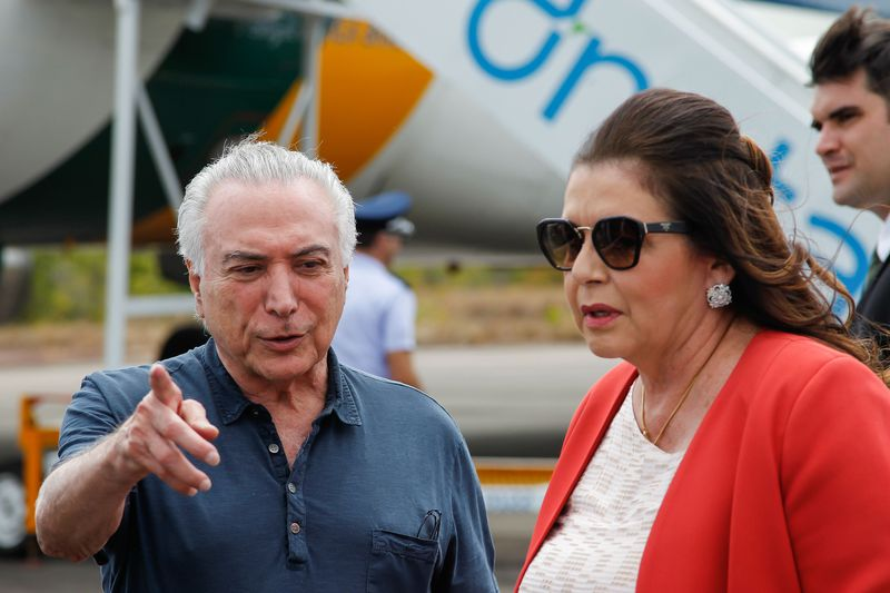 Temer se reuniu com Suely Campos nesta segunda-feira