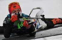 Alemã conquista segunda medalha de ouro no biatlo nas Olimpíadas de Pyeongchang
