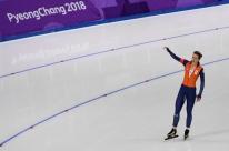 Holandesa conquista décima medalha olímpica e bate recorde na patinação