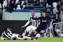 Juventus faz 2 a 0 em 8 minutos, mas Tottenham empata