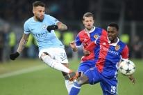 City massacra o Basel, faz 4 a 0 na ida e encaminha vaga na Liga dos Campeões