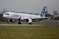 Novo Airbus A321 faz primeiro voo transatlântico