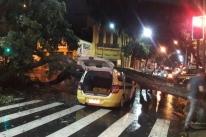 Sobe para três o número de mortes no Rio por causa de temporal