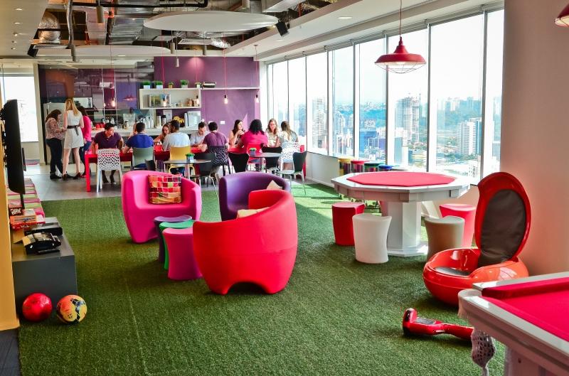 Novo escritório da Movile em São Paulo