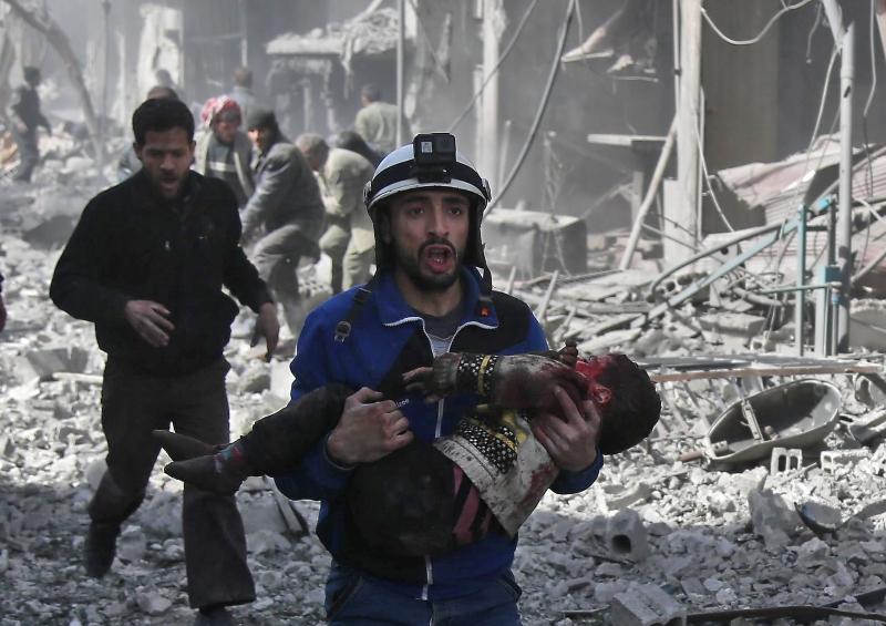 Bombardeamentos em Ghouta já provocaram cerca de 200 mortos