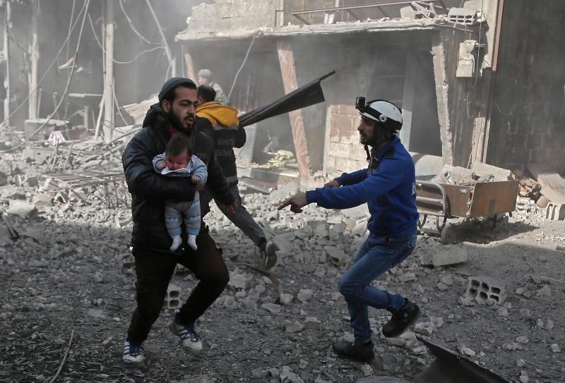 Região de Ghouta Oriental volta a ser bombardeada — Síria
