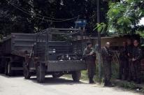 Forças Armadas participam de varredura em presídio do Rio