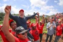 PT faz primeiro lançamento da candidatura de Lula a presidente