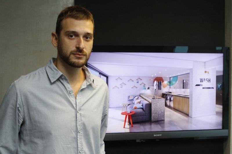 Empresa de Eduardo projetou um condomínio para a Geração Y em Porto Alegre, o Coliving