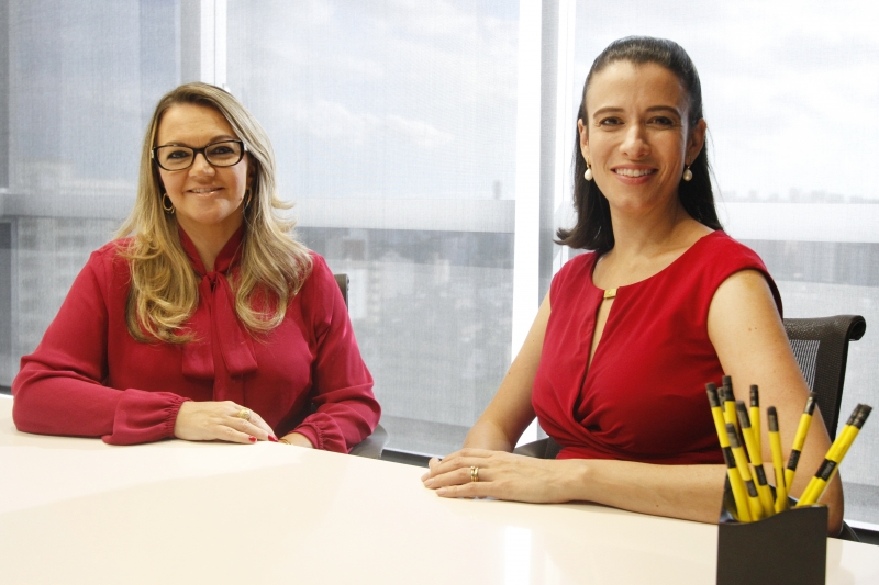 Fernanda Girardi e Raquel Stein desenvolveram pesquisa para compreender necessidades da empresa