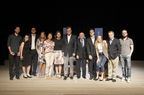Gravação e fotos do encontro promovido pelo JC entre Clóvis Tramontina e José Galló para o caderno Marcas de Quem Decide.