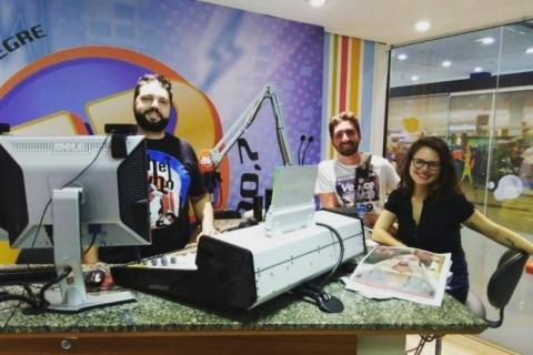 O estúdio fica no Shopping Total, em Porto Alegre