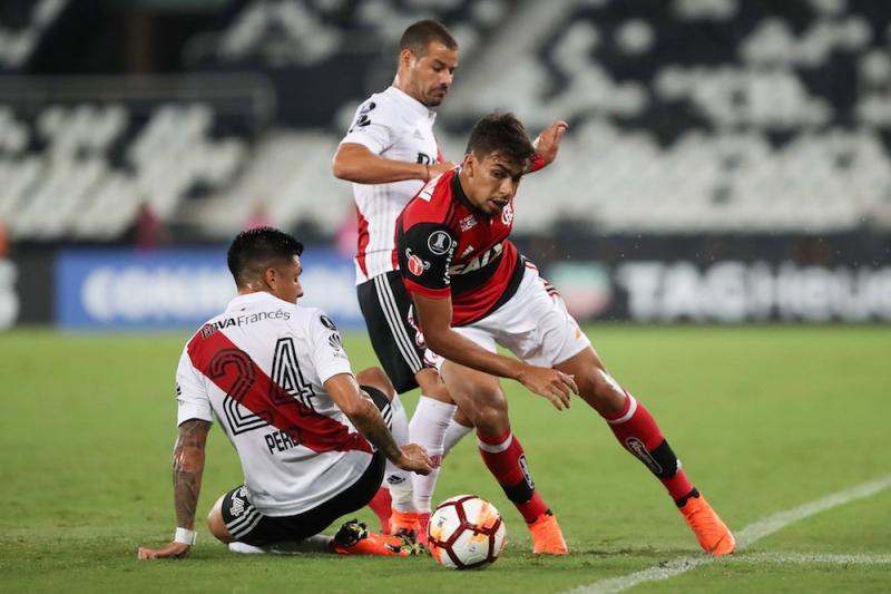 River igualou o placar com o Flamengo somente aos 41 minutos do segundo tempo