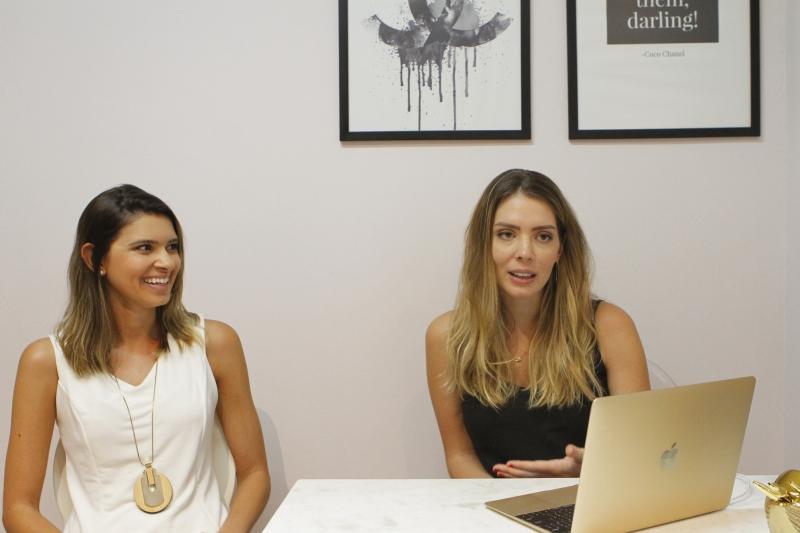 Vanessa Oliveira e Fabiana Denes da Volpe Luxo Inteligente