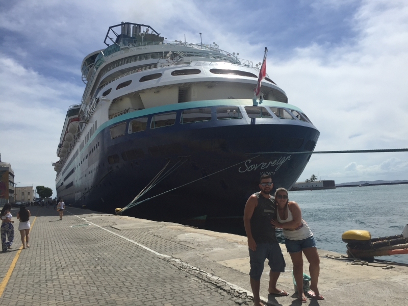 Diego Dornelles da Costa e a namorada, Marcelle Ávila, planejaram o Carnaval de 2019 na Bahia
