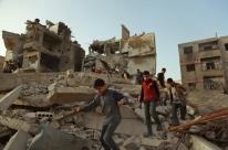 Primeiro comboio de ajuda chega à região de Ghouta