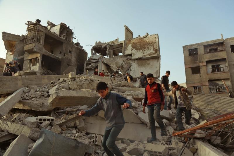 Bombardeios das forças de Assad agravaram a crise humanitária