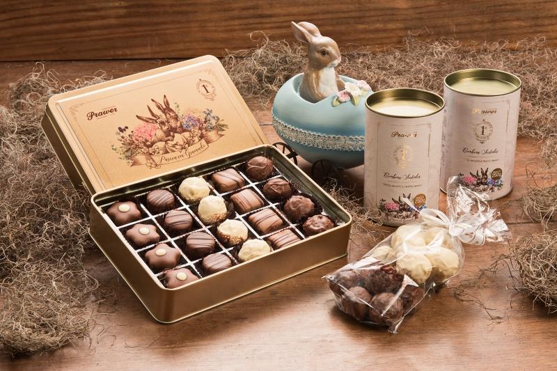 Linha de Páscoa da fabricante de chocolates Prawer crédito divulgação Prawer