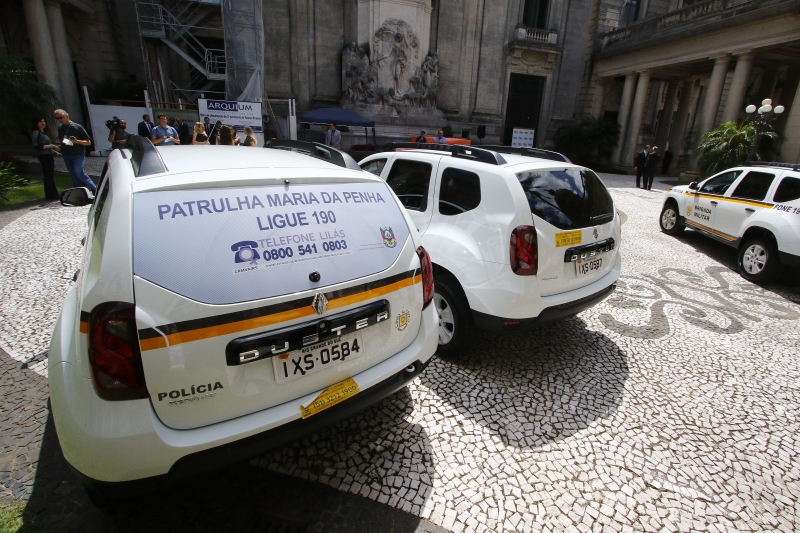 No Estado, 27 municípios são atendidos por 32 Patrulhas Maria da Penha