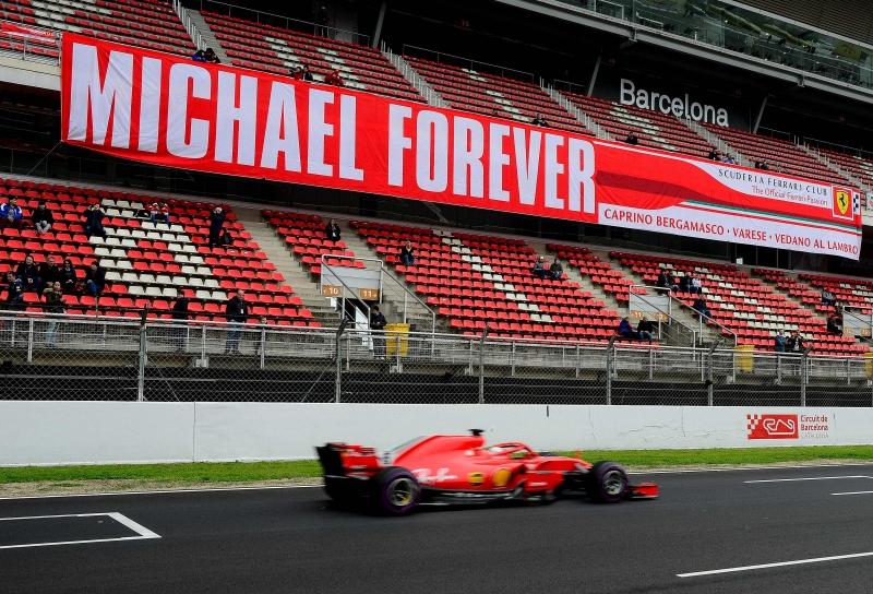 Piloto da Ferrari cravou 1min17s182, recorde não oficial da pista