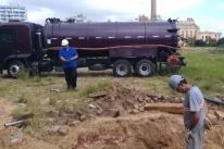 Máquinas já trabalham nas obras de revitalização do Cais Mauá