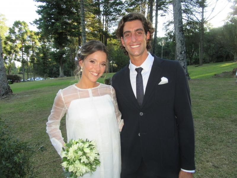 A felicidade de Paula Cardoso de Azevedo e Pedro Horn Sehbe
