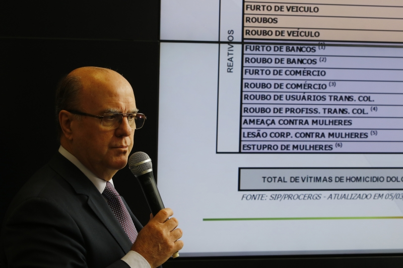 """""""Embora os números ainda sejam altos, todos os indicadores reduziram"""", diz Schirmer"""
