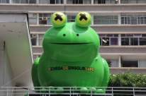 Fiesp substitui pato inflável por sapo em campanha