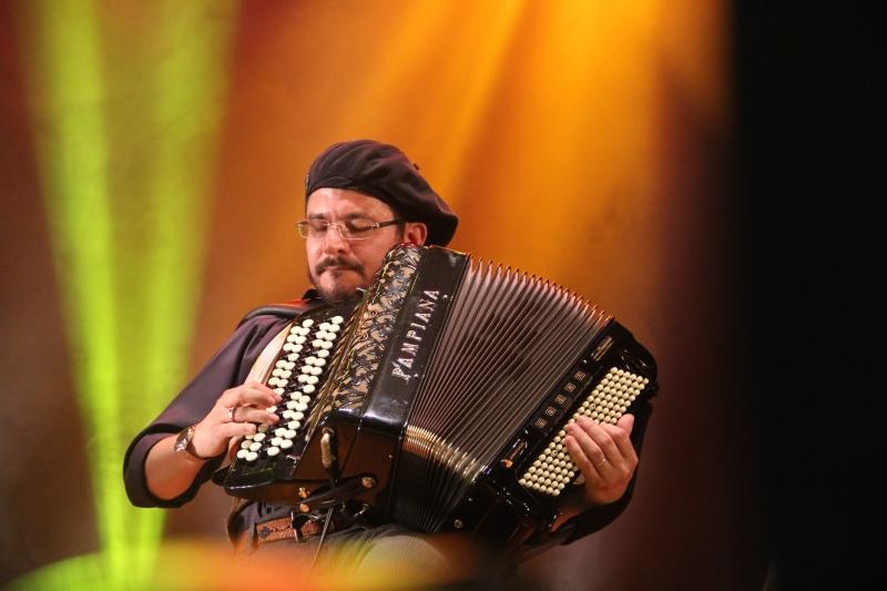 Jarbas Nadal é um dos músicos que participará do show de trova e chamamé