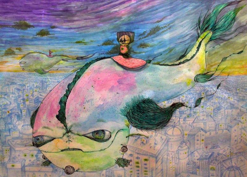 Obras de Amaro Abreu podem ser conferidas no Instituto Goethe