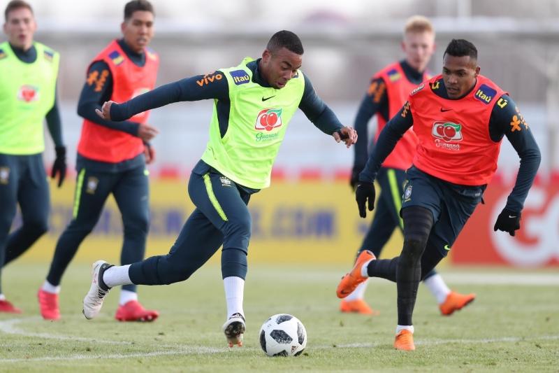 Resultado de imagem para - Seleção brasileira treina na abertura da Copa 2018