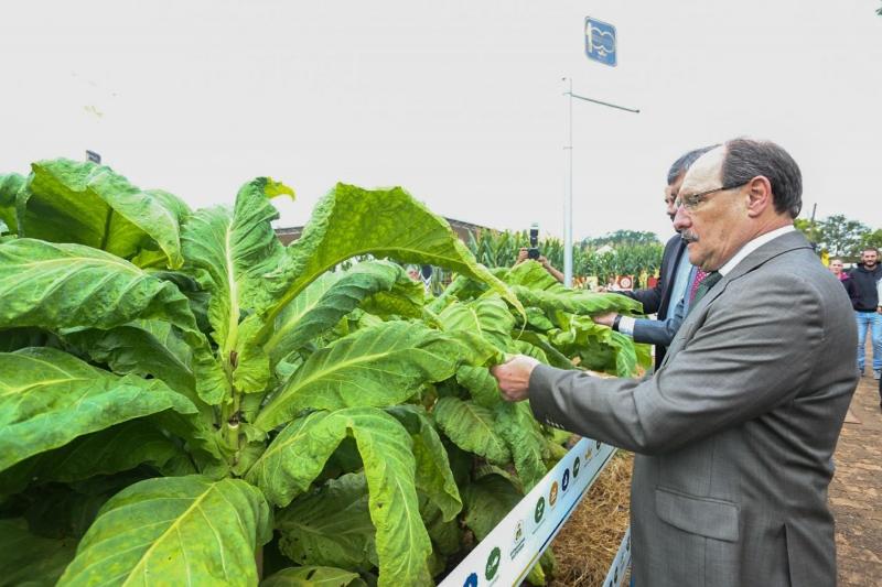 Governador José Ivo Sartori destacou sustentabilidade rural