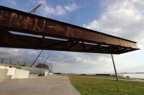 Concessionária vai restaurar mirante no trecho 1 da Orla do Guaíba