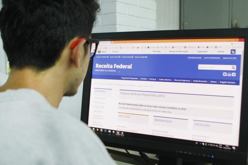 Painel inicial do sistema, com informações das fichas que poderão ser mais relevantes para o contribuinte, é uma das novidades