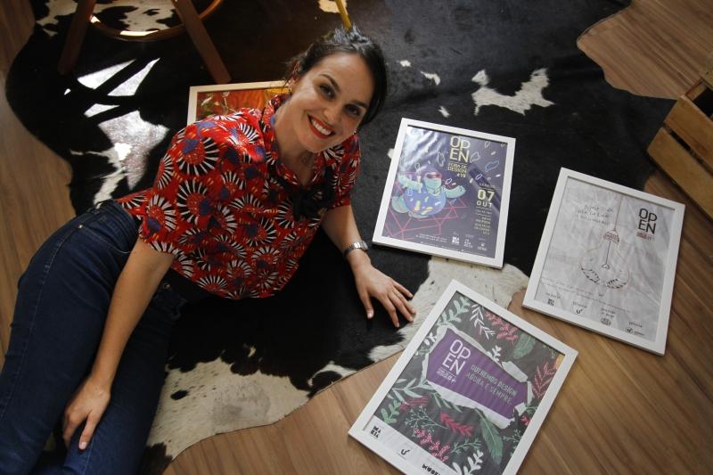 Camila trouxe o modelo da Open Feira de Design de uma viagem à Itália