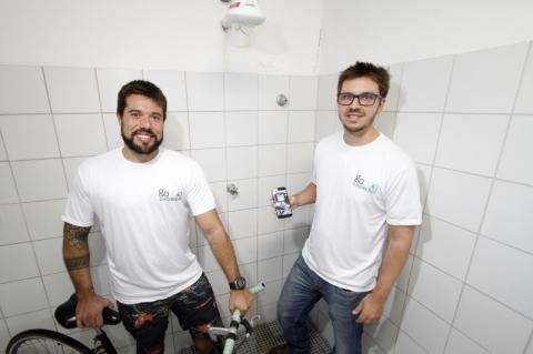 Pessoas poderão alugar seus chuveiros para ciclistas e ganhar dinheiro com app criado em Porto Alegre