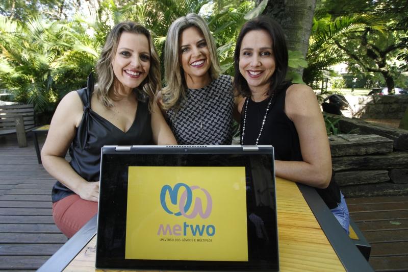 A Me Two, plataforma criada por Elisa (esquerda), Vanessa e Thaís, propõe conteúdo e clube de descontos