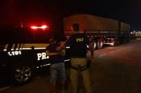 PRF apreende três toneladas de maconha na BR-386, em Lajeado