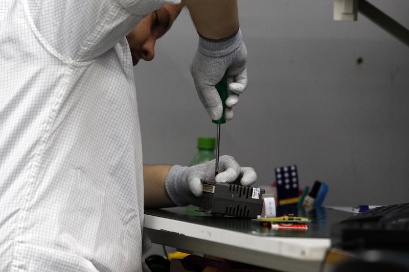 Fábrica da empresa Altus, no Tecnosinos: empresa produz sistemas e equipamentos de automação industrial