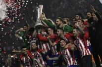 Griezmann marca dois, Atlético bate o Olympique e fatura Liga Europa pela 3ª vez