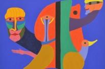 Personagens das tintas: mostra com obras inéditas de Britto Velho abre nesta terça